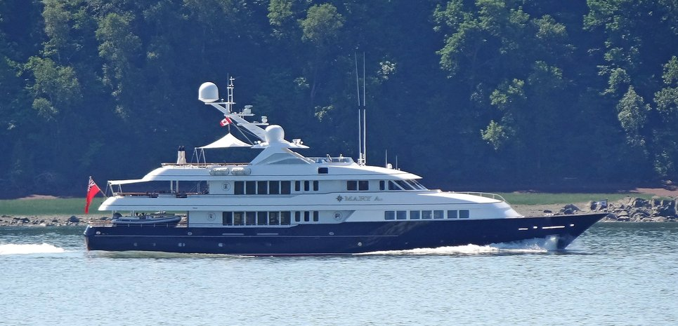 Mary A Charter Yacht