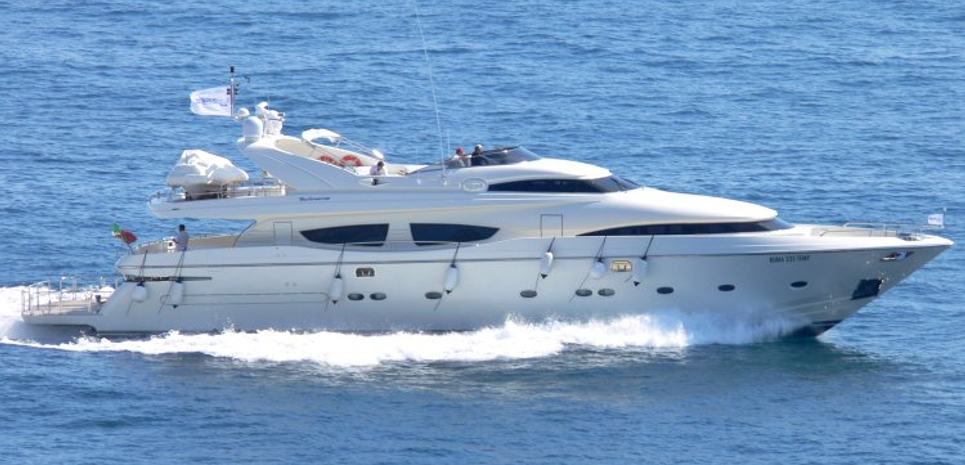 Lady Power Charter Yacht