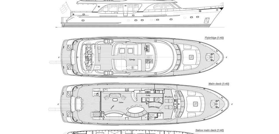 Amphitrite Charter Yacht