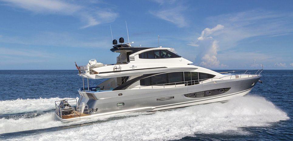 HAMPTON 830 Charter Yacht