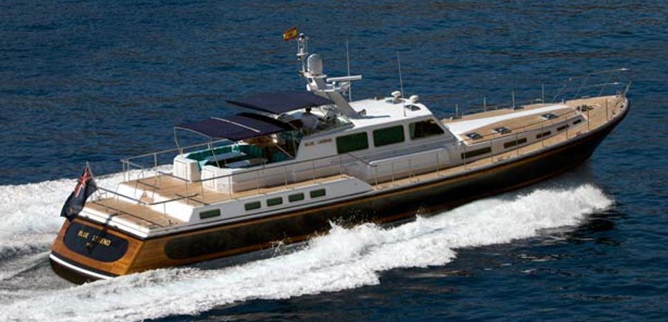 Blue Legend Charter Yacht
