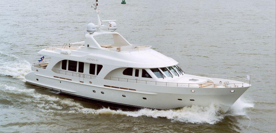 Moonen 84 Charter Yacht