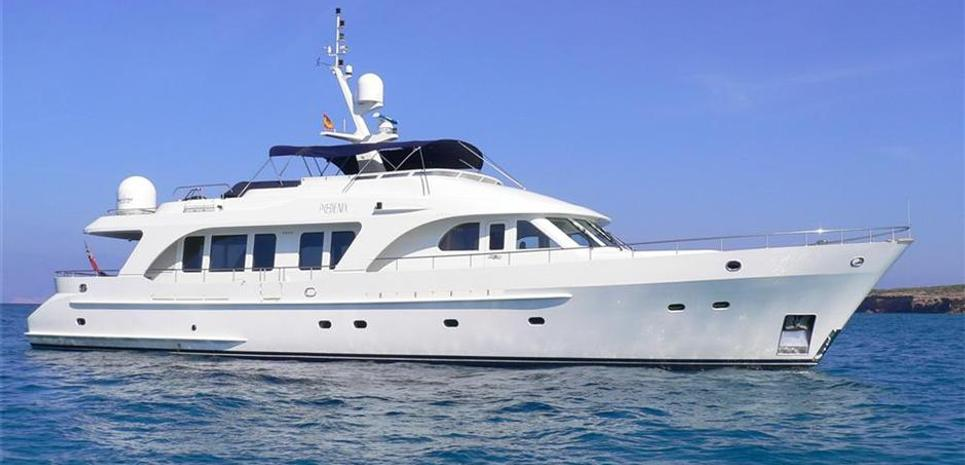 Impetuous Charter Yacht