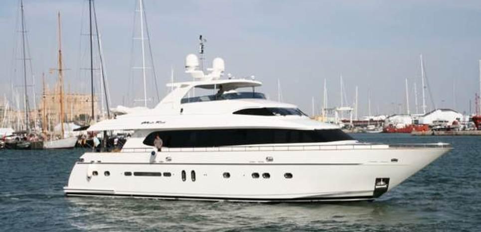 Montefino 92 Charter Yacht