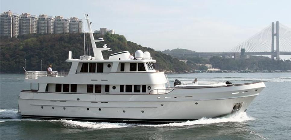 Robert Bruce Charter Yacht