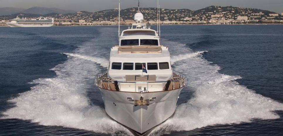 Serene Seas Charter Yacht