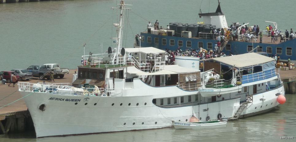 Africa Queen Charter Yacht