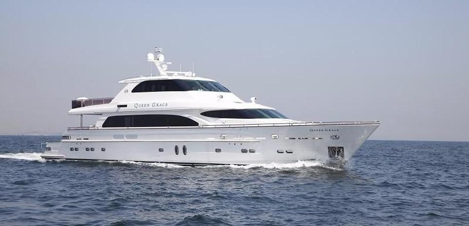 Queen Grace Charter Yacht