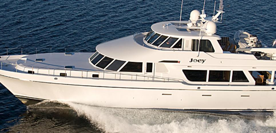 Joey Charter Yacht