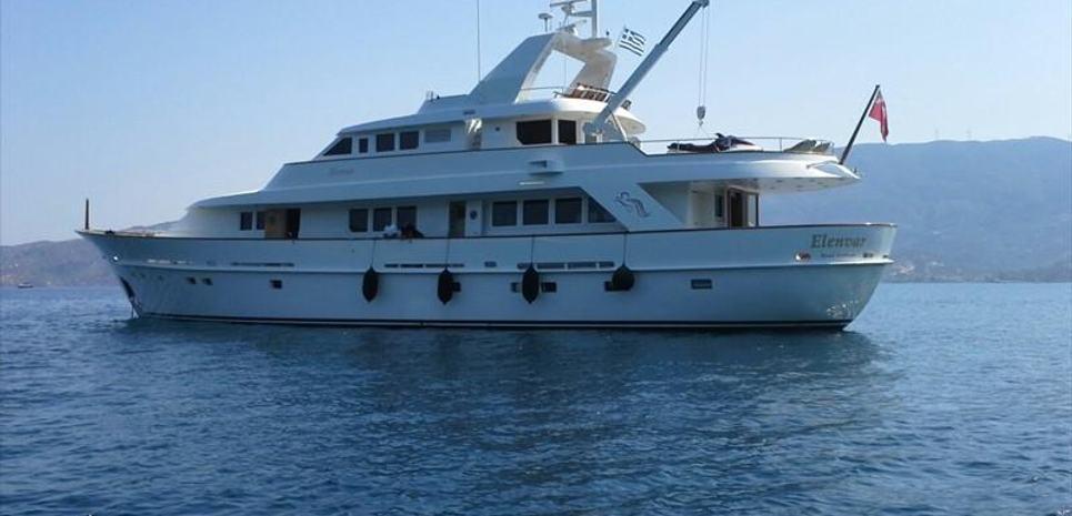 Elenvar Charter Yacht