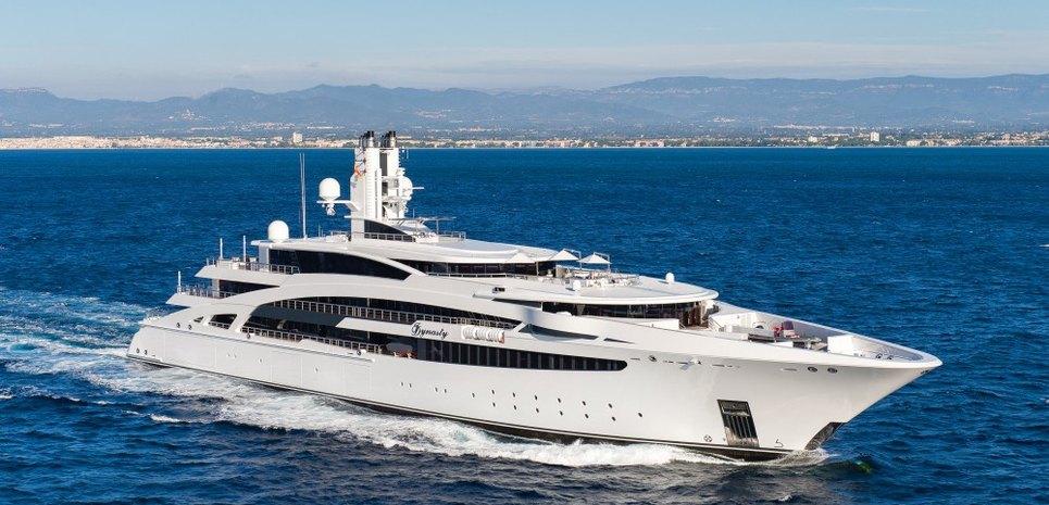 I Dynasty Charter Yacht