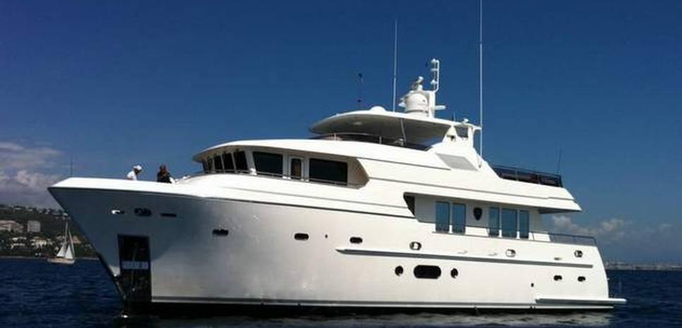 Bandido 75 Charter Yacht