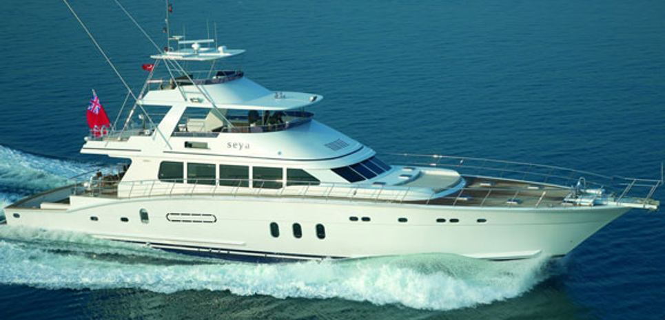 Seya Charter Yacht