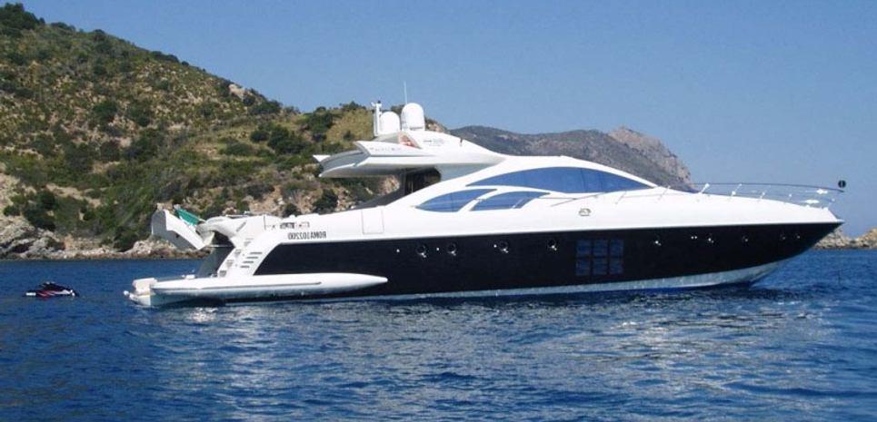(SWJ) 86' Azimut 86S 2007 Charter Yacht