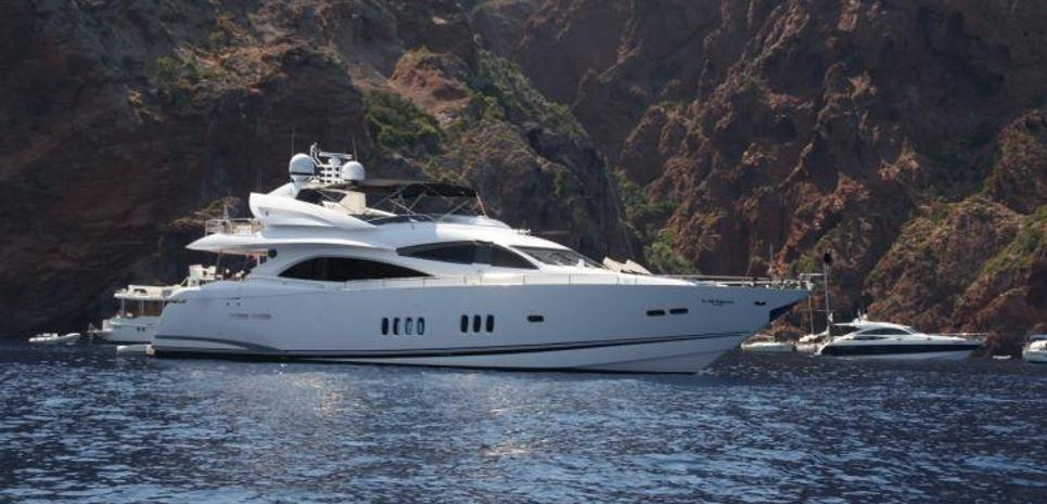 Melinda V Charter Yacht