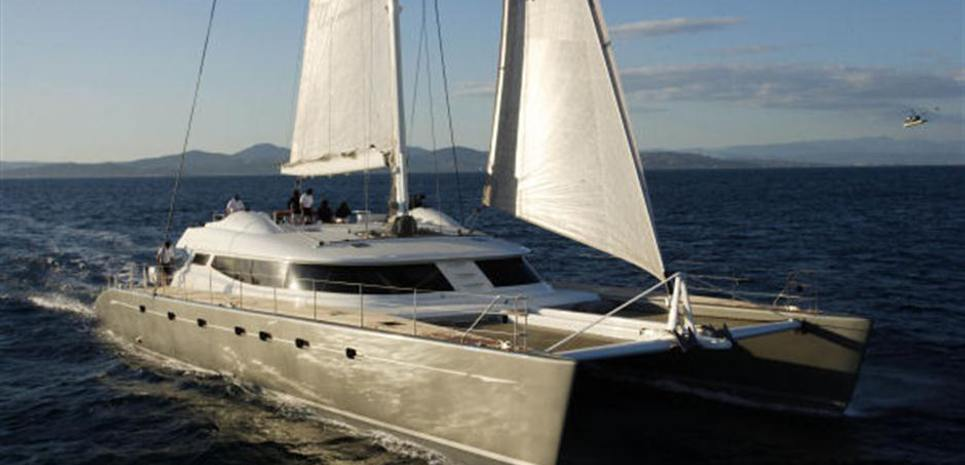 Blubay 102 Charter Yacht
