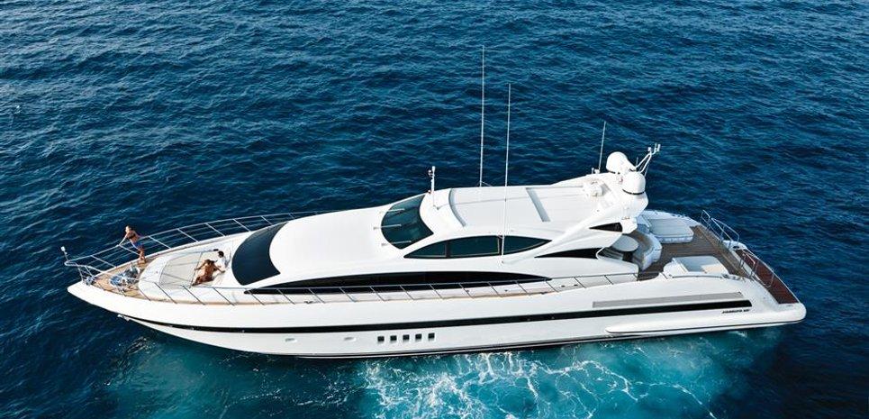 Mangusta 105 Charter Yacht