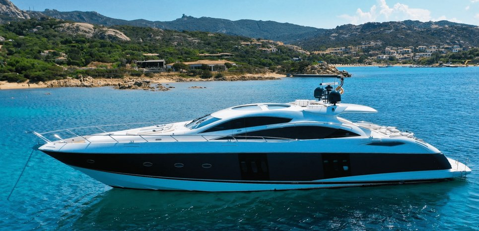 Light Blue Charter Yacht