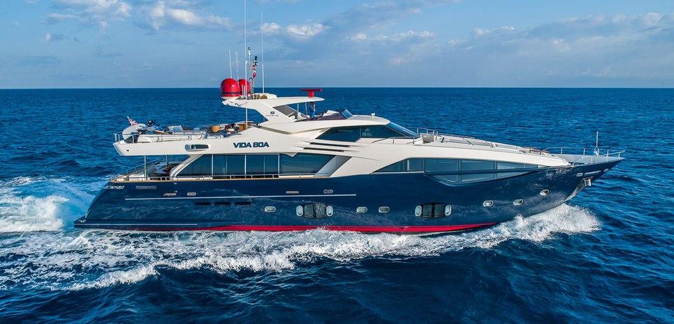 Vida Boa Charter Yacht