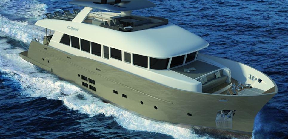 27 SC-S Explorer Yacht Charter Yacht