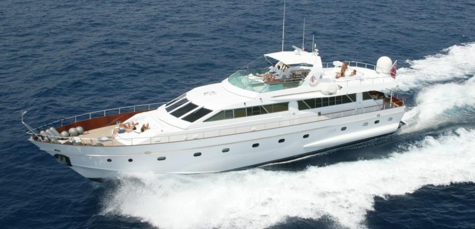 White Secret Charter Yacht