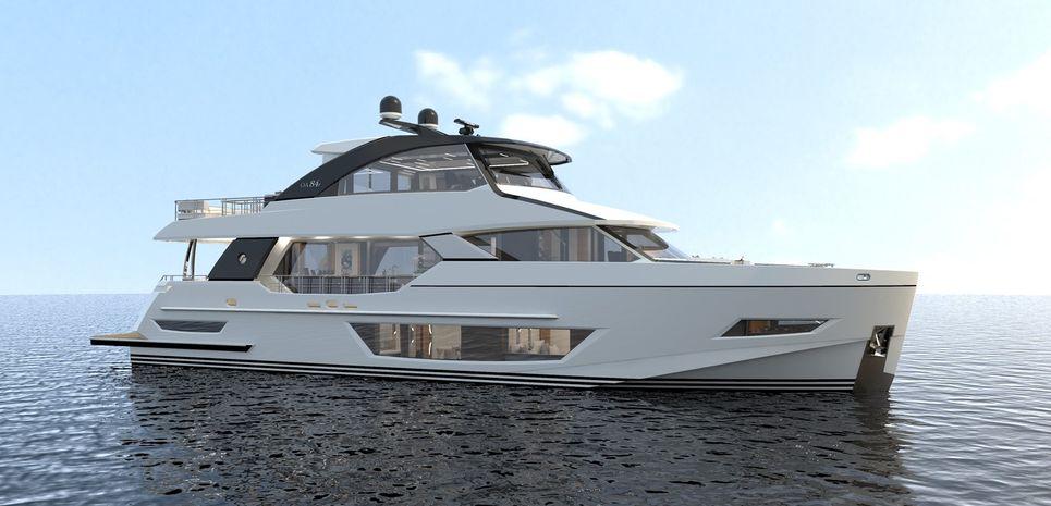 Ocean Alexander 84R/ 01 Charter Yacht