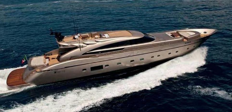 Abati 118' Charter Yacht