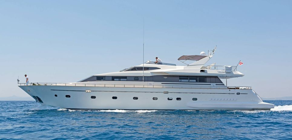 Lucy Pink Charter Yacht