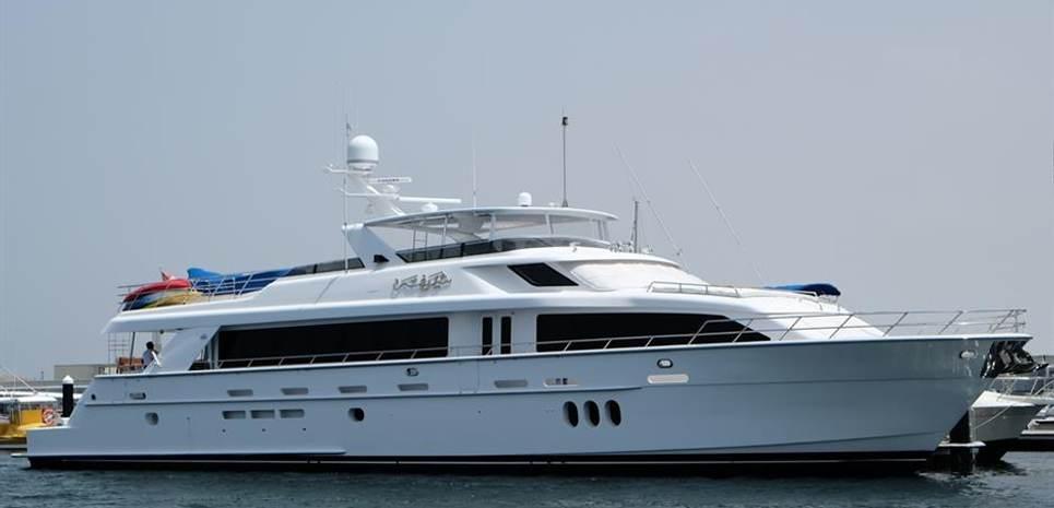 Sharifa Charter Yacht
