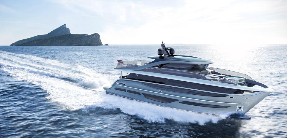 PRINCESS X95/01 Charter Yacht