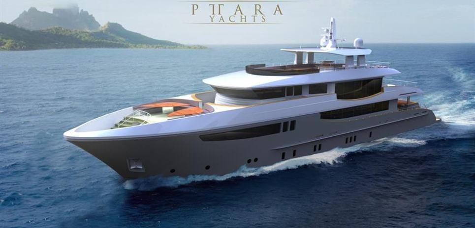 140' Pittara Explorer Charter Yacht