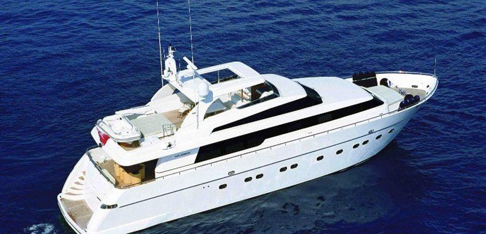 Sky Khan Charter Yacht