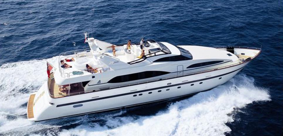 Nasma Charter Yacht