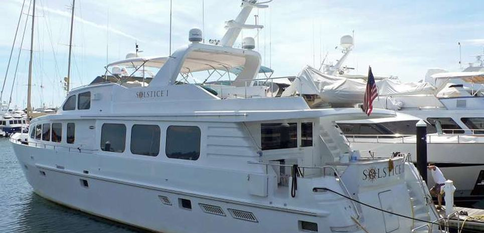 Solstice I Charter Yacht
