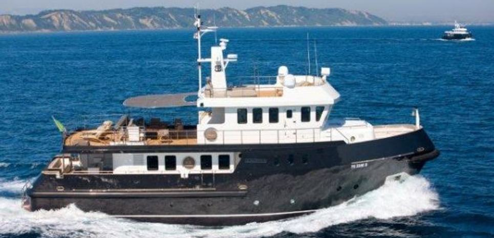 Indian Charter Yacht