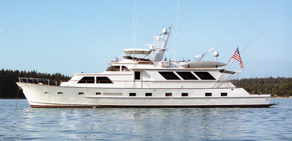 Mary Elizabeth II Charter Yacht