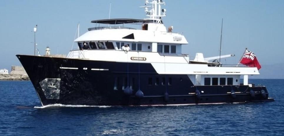 Caressa K Charter Yacht