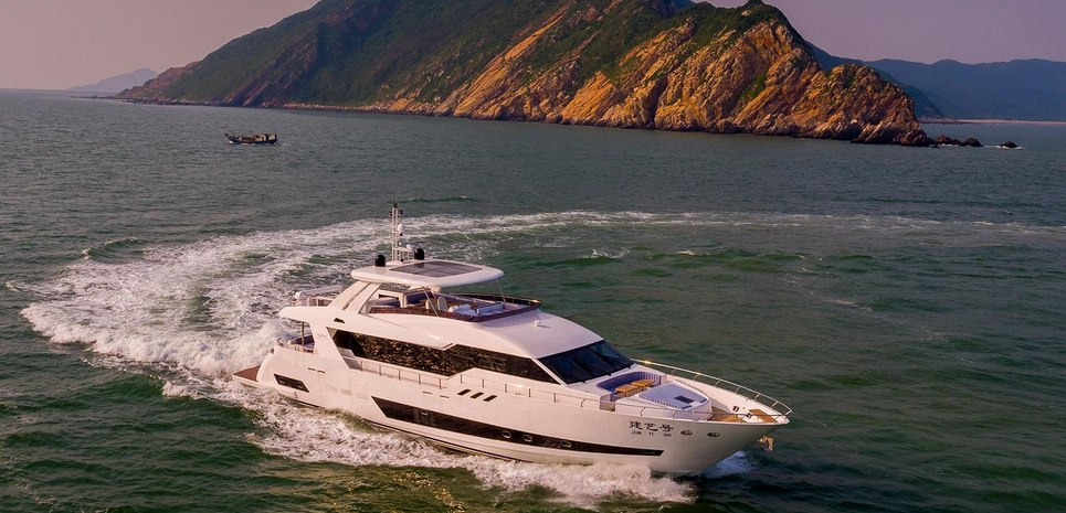 Asteria 96/01 Charter Yacht