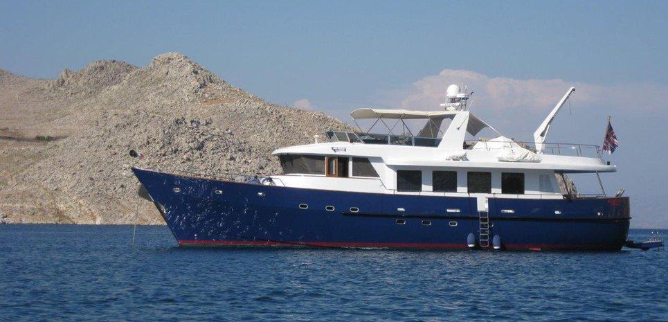 Mokonzi Charter Yacht