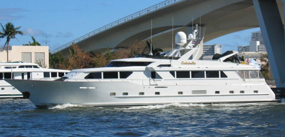 Gabriella Charter Yacht