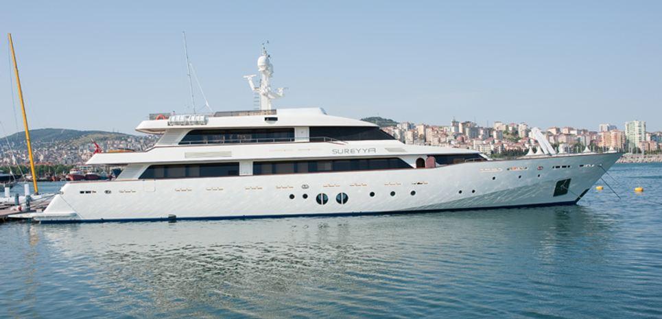 Sureyya Charter Yacht