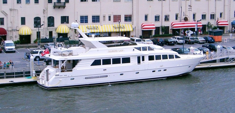 Diamond Lady Charter Yacht