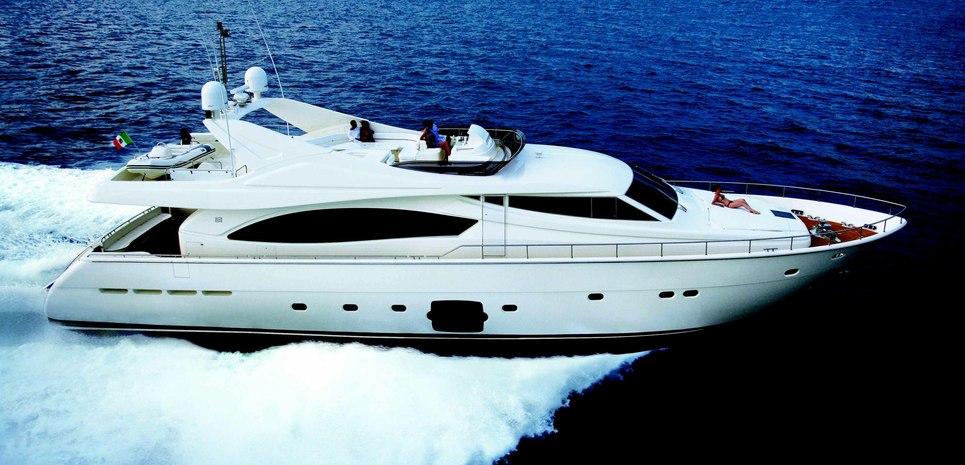 Ferretti 880/12 Charter Yacht