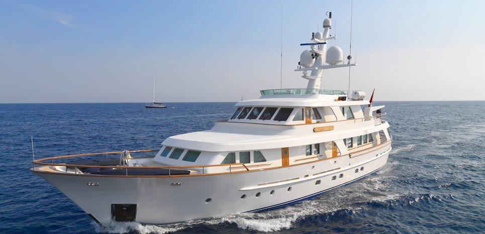 Spada Charter Yacht