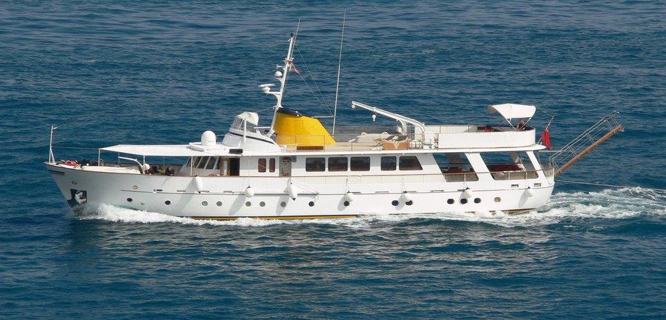 Pamela IV Charter Yacht