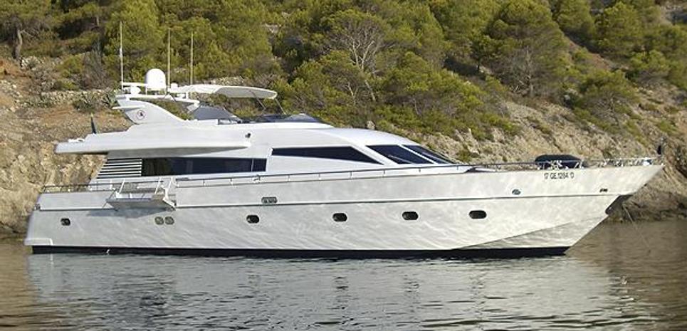 Crowbridge Charter Yacht