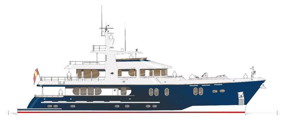 Cape Scott 114 Charter Yacht