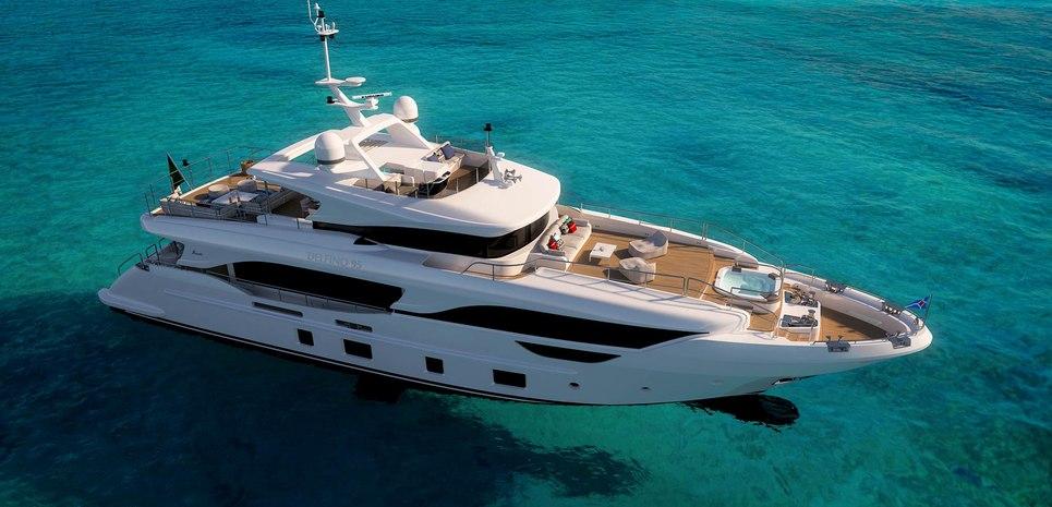 Delfino 95/ BD110 Charter Yacht