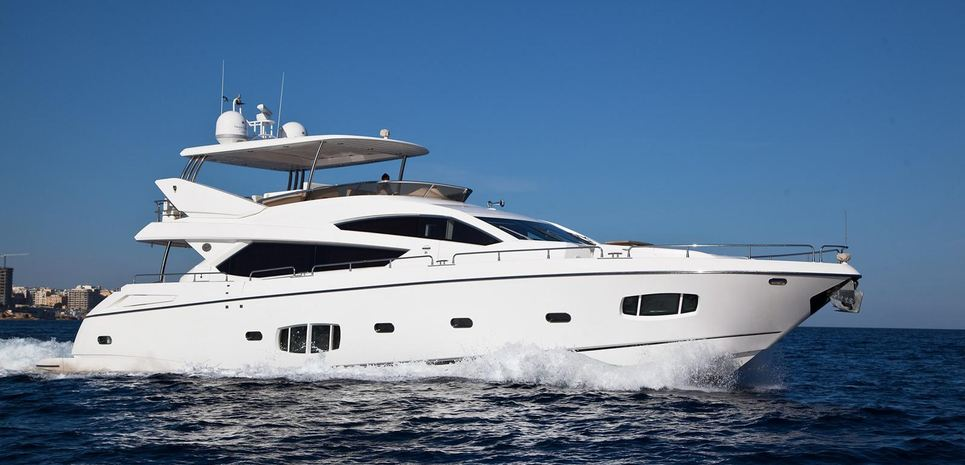 Nirvana Blu Charter Yacht
