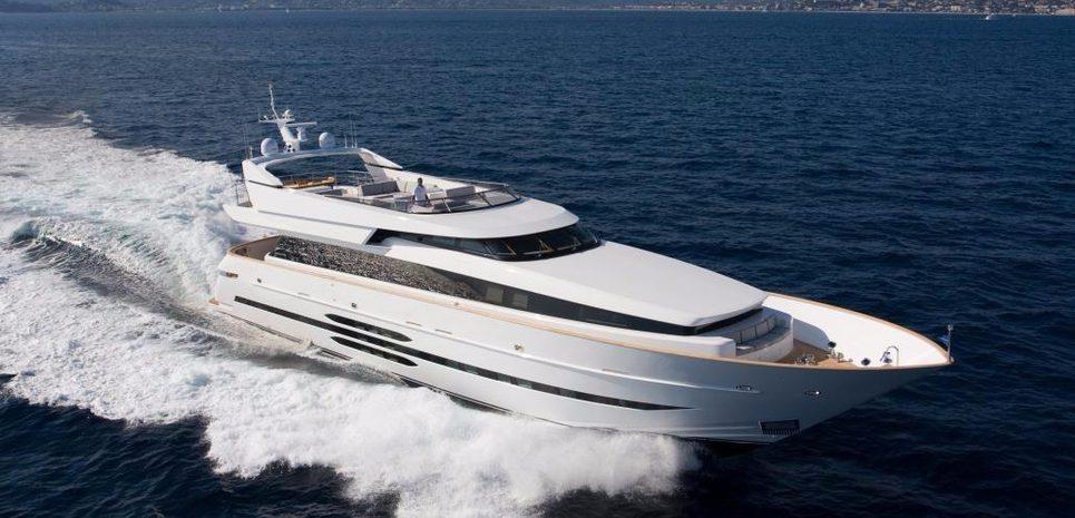Akhir 108 Charter Yacht